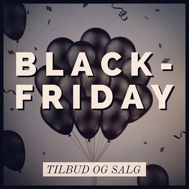 Black Weekend | Black Friday 2021 | Tilbud og rabatter