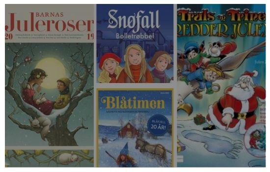 Julehefter | Norsk tradisjon for både stor og små