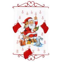 Broderi-julekalender og strikk-julekalender