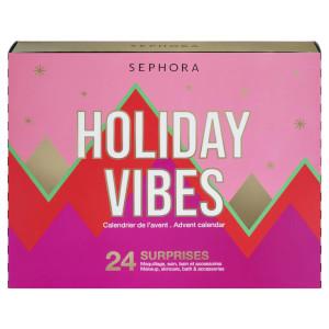 Sephora Holiday Vibes | Skjønnhetskalender 2021