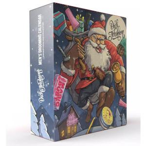 Dick Johnson Bad Santa Mens Grooming Calendar