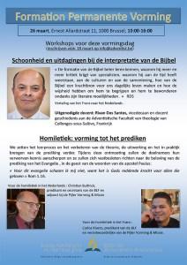 Permanente Vorming (FPV) @ Federatiekantoor (3e Verdieping) | Brussel | Brussels Hoofdstedelijk Gewest | België