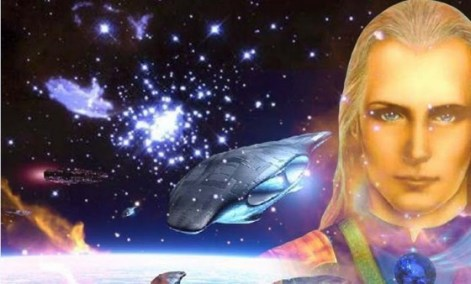 "Ashtar Sheran, uma das faces ""amigáves"" do anjo caído, que se apresenta como comandante extraterrestre."