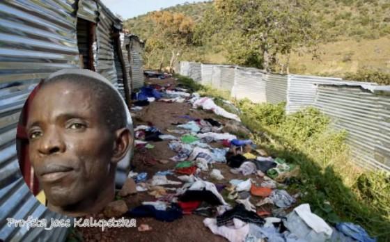Acampamento dos seguidores de Kalupeteka no monte Sume destruído pela policia