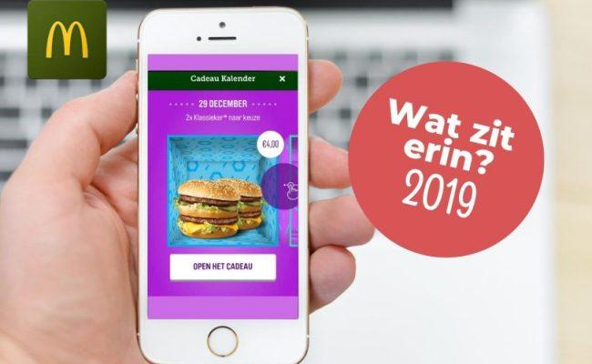 Mcdonalds Cadeau Kalender 2019 Dit Zijn De Acties Van