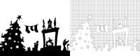 Christmas Window Printable Designs