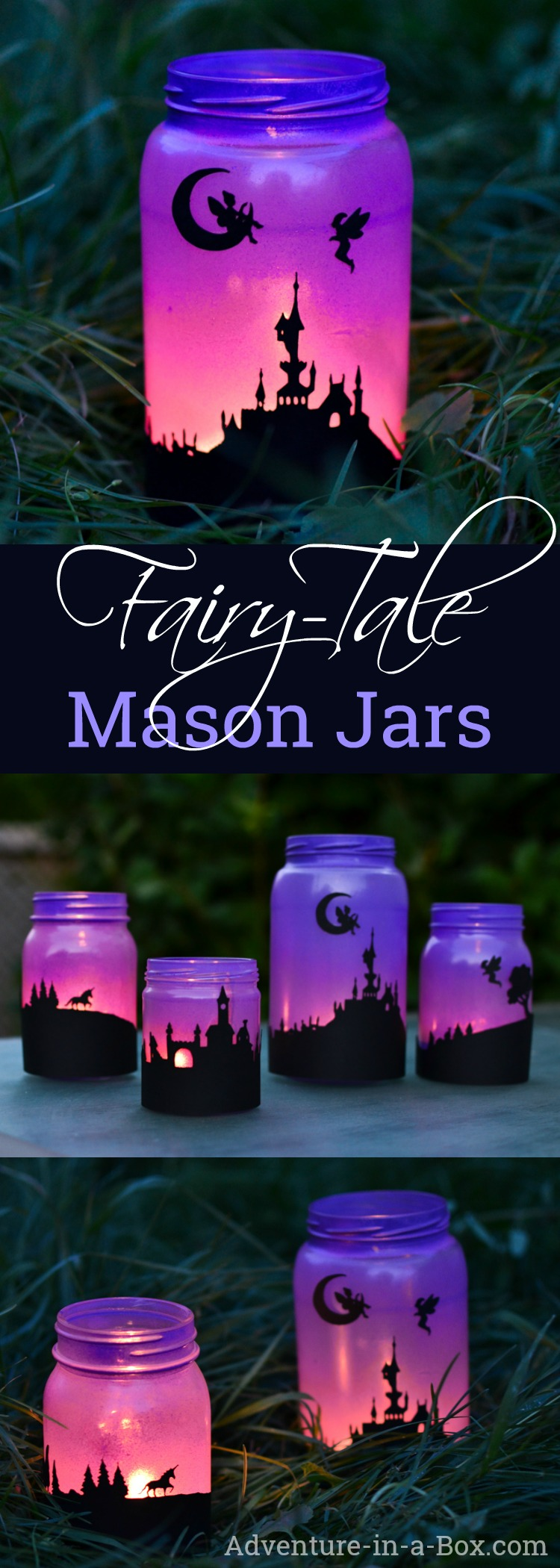 Fairy Tale Mason Jar Lanterns Adventure In A Box