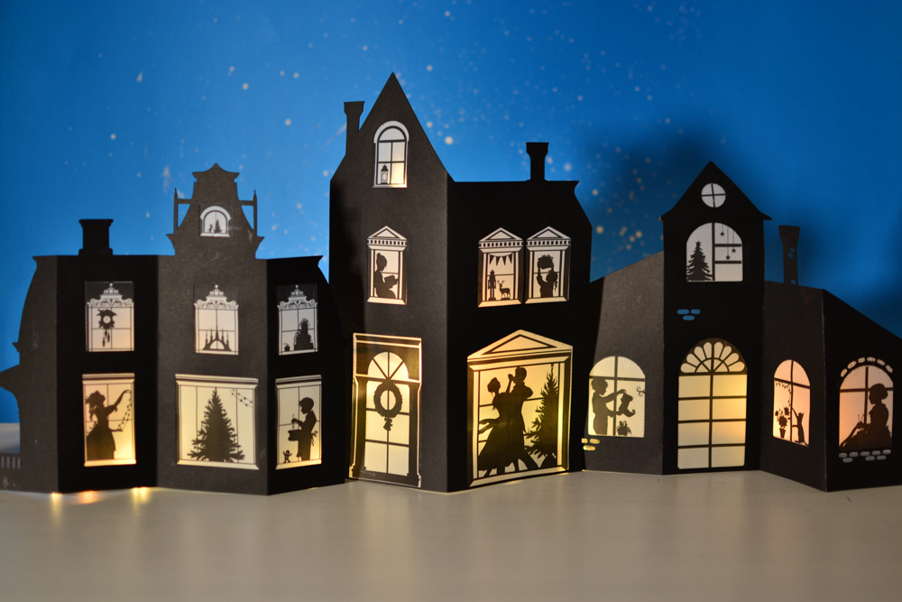 Silhouette Christmas Craft Book Over 60 Printable Templates Adventure In A Box