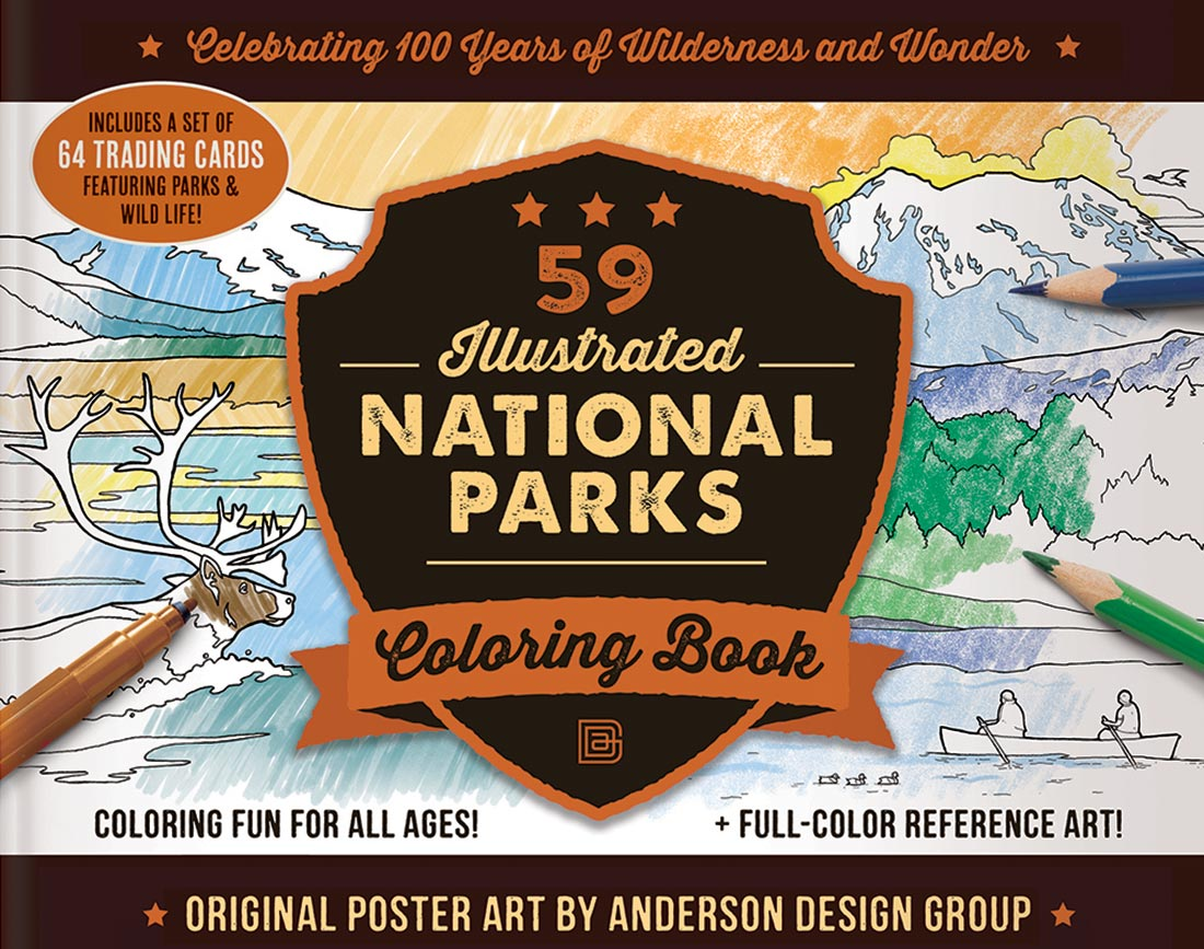 Coloring Your Way Through The National Parks