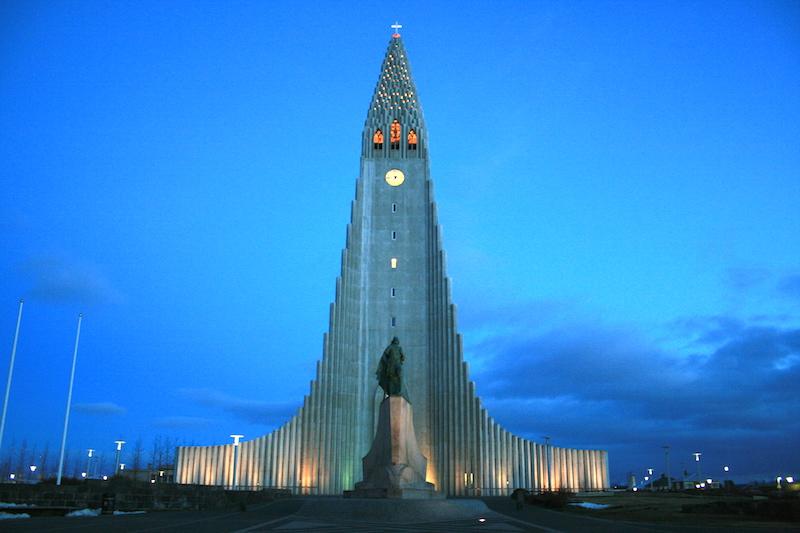 24 Hours in Reykjavik Hallgrimskirkja