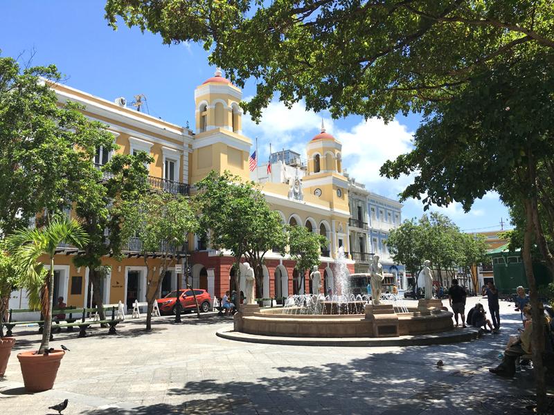 Plaza de Armas of San Juan