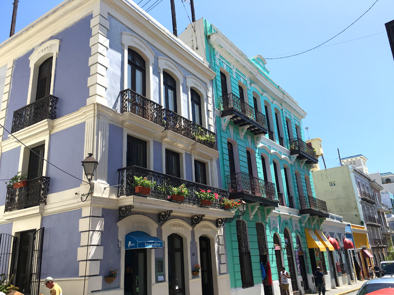San Juan Spanish Colonial Buildings