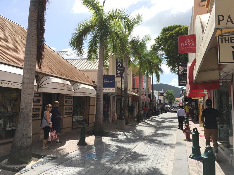 St. Maarten Front Street