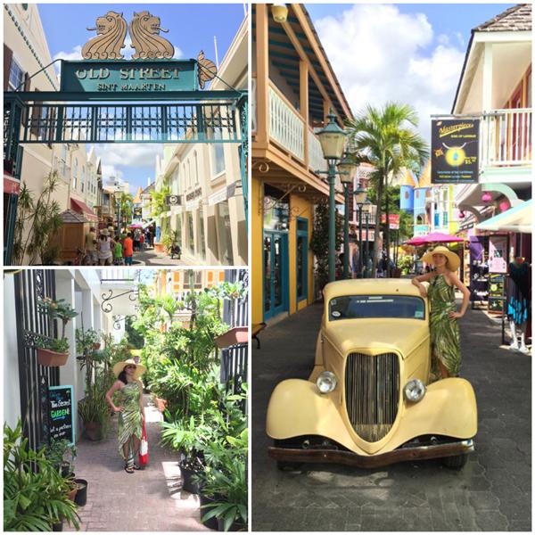 St. Maarten Old Street Philipsburg