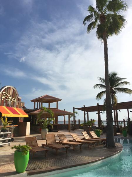 St. Maarten Sunset Bar Maho Beach