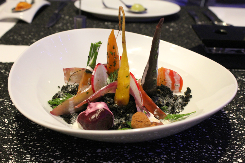 Anthem of the Seas Dining Experience Vegetable Garden