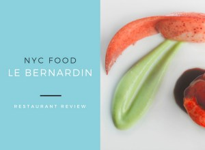 NYC Food:  Le Bernardin