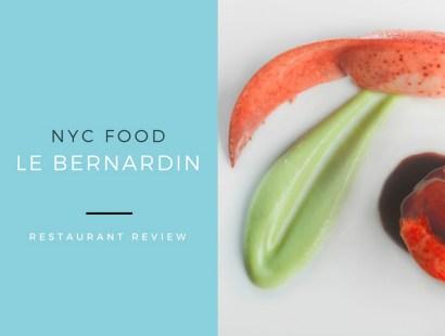 NYC Food:  Le Bernardin