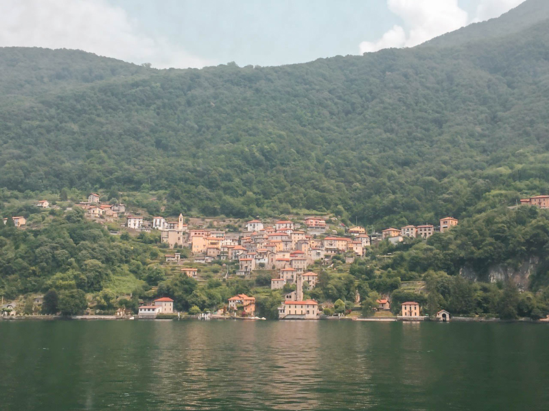 Trip to Lake Como Scenery
