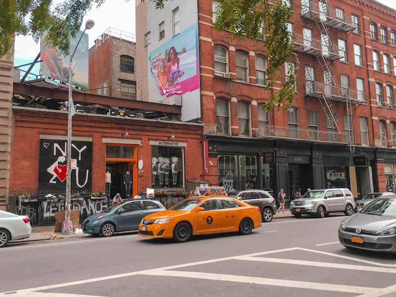 NYC Itinerary Soho Shopping