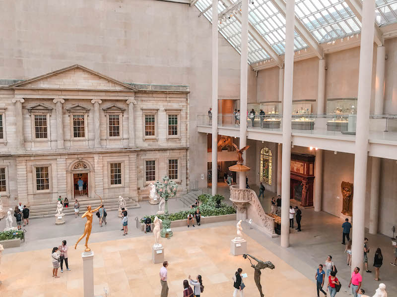 NYC Itinerary The MET