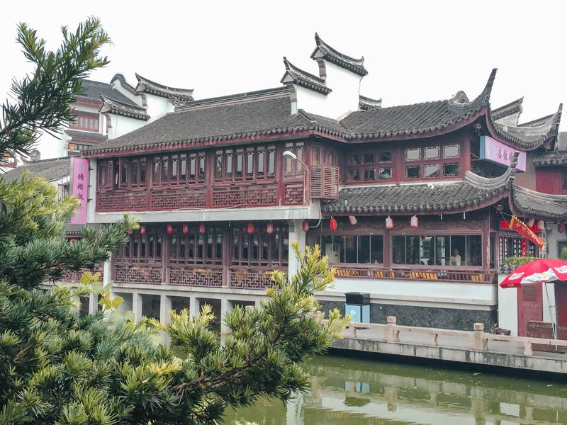 Qibao Water Town Tea House