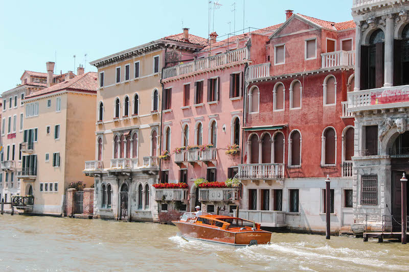 Exploring Venice Photo Diary Grand Canal