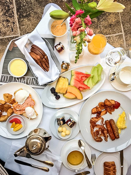 The Prince of Wales Hotel Breakfast