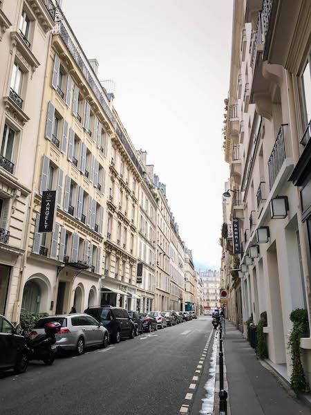 Hôtel Gabriel Paris Street