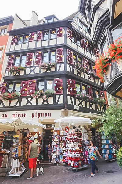 Vibrant Palette of Alsace_Colmar Buildings