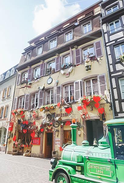 Vibrant Palette of Alsace_Colmar Train