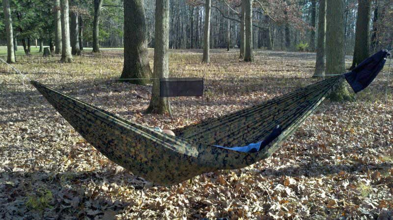 Even a light hammock should be full sized and functional.The 12 oz, $75 Dream Hammock FreeBird is a full 11 feet long and 60 inches wide.