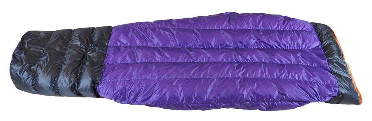 ultralight backpacking quilt - hammock gear burrow 20