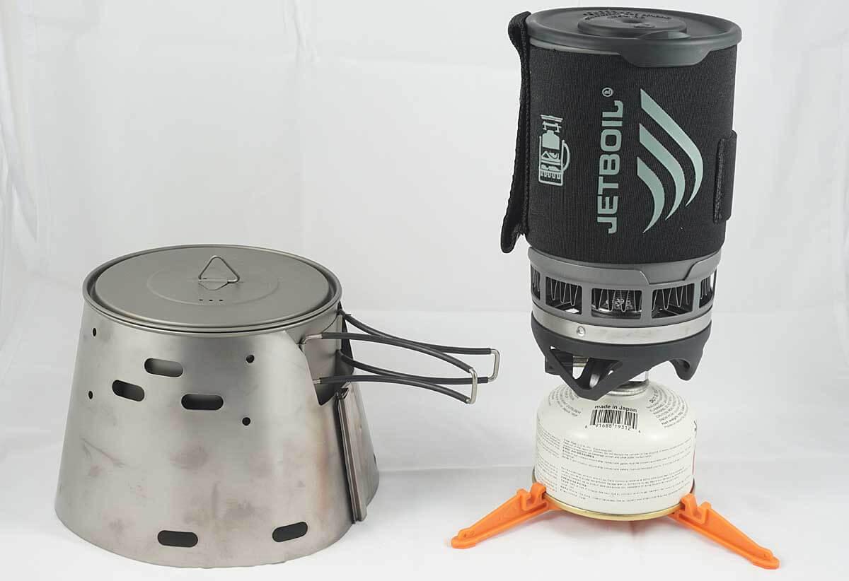 best backpacking stove system - trail designs caldera vs. jetboil