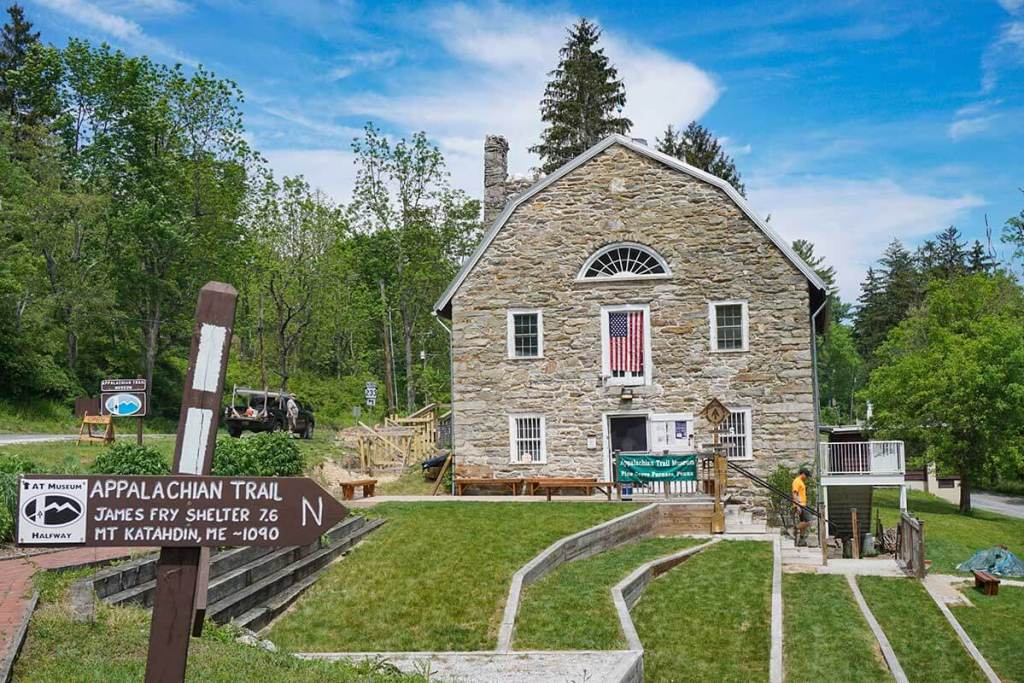The Appalachian Trail Museum in Pine Grove Furnace State Park.