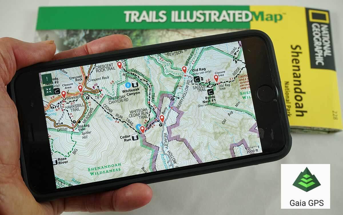 Huge Improvements to Next Gen Gaia GPS Hiking App - Adventure Alan
