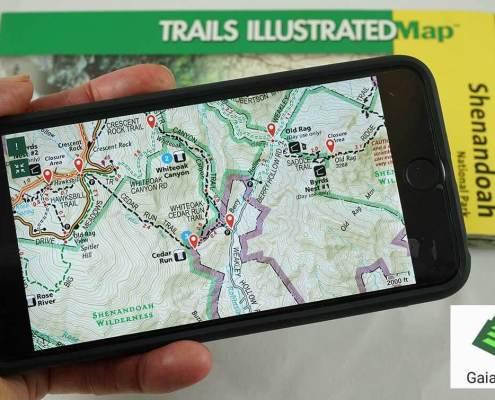 Next Gen Gaia GPS Hiking App