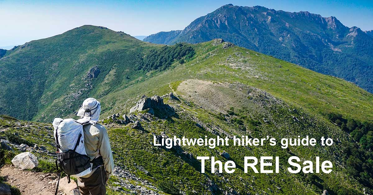2019 Lightweight Hiker's Guide to the REI Anniversary Sale