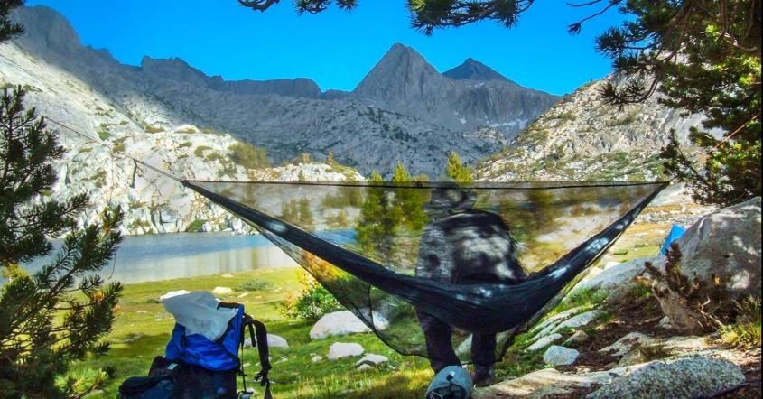 Hammock Camping is Fanstatic