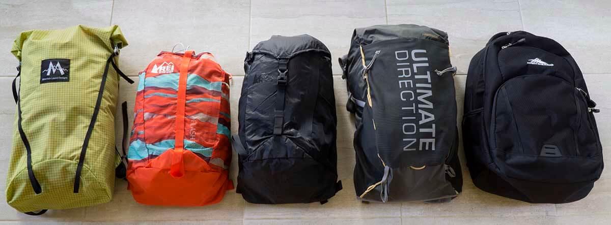 3 lb Ultralight Day Hiking Gear Checklist