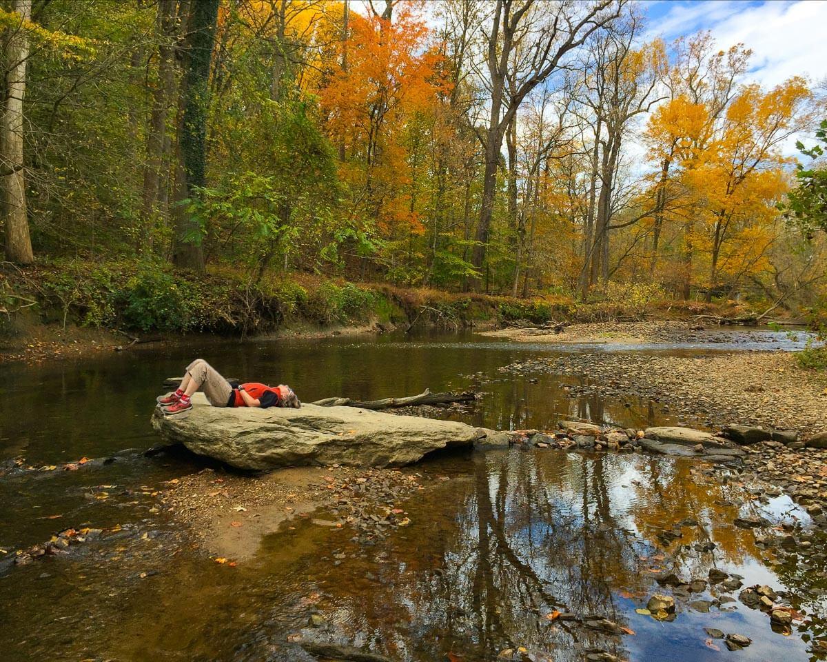 smartphone hiking photography