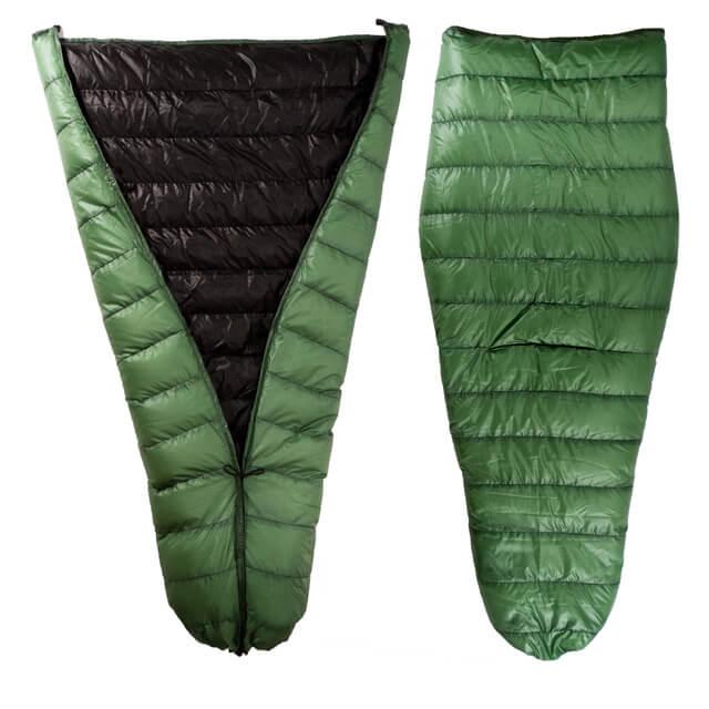 lightweight backpacking quilt - jacks r better hudson river quilt