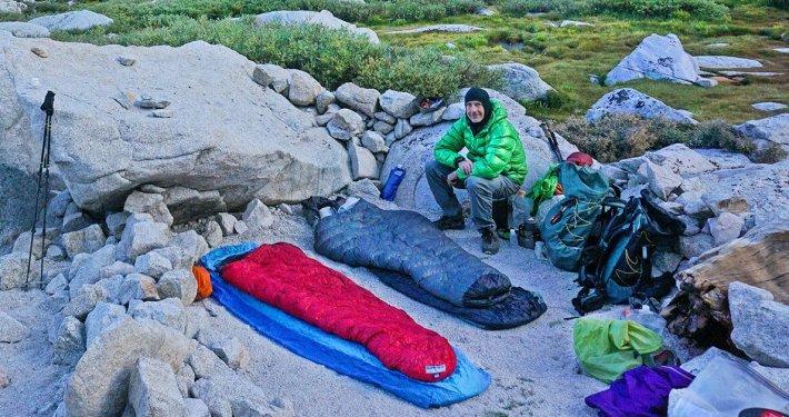 ultralight camping quilt
