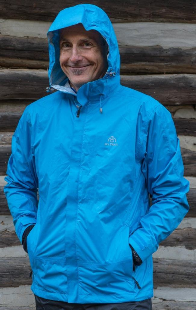 Mytrail - Storm - Best Lightweight Rain Jacket for Hiking and Backpacking
