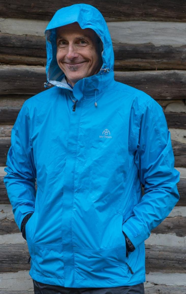 064fc7d12 Mytrail - Storm - Best Lightweight Rain Jacket for Hiking and Backpacking