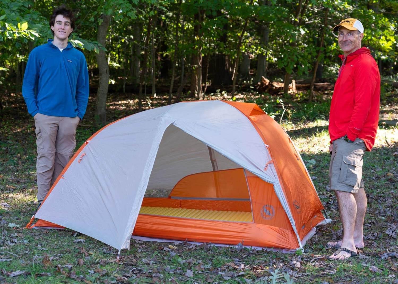 Lightweight Backpacking Tent - BIG AGNES COPPER SPUR HV UL2