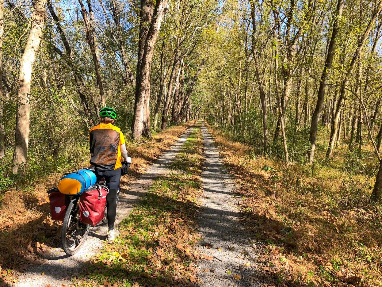 bikepacking C&O Canal Trail