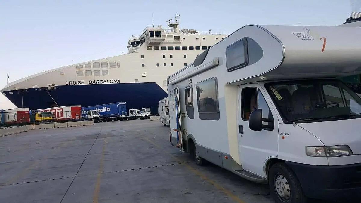 Car Ferry Adventures Spain To Montenegro Adventure And Sunshine