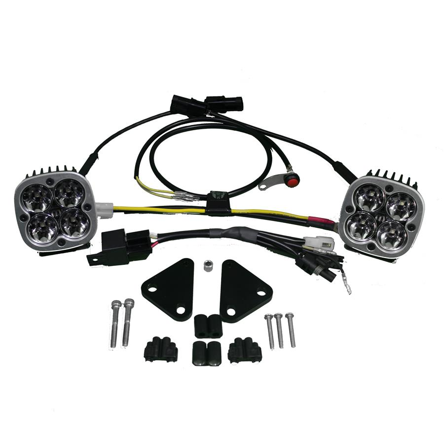 hight resolution of baja designs squadron sport bmw f800gs led light kit