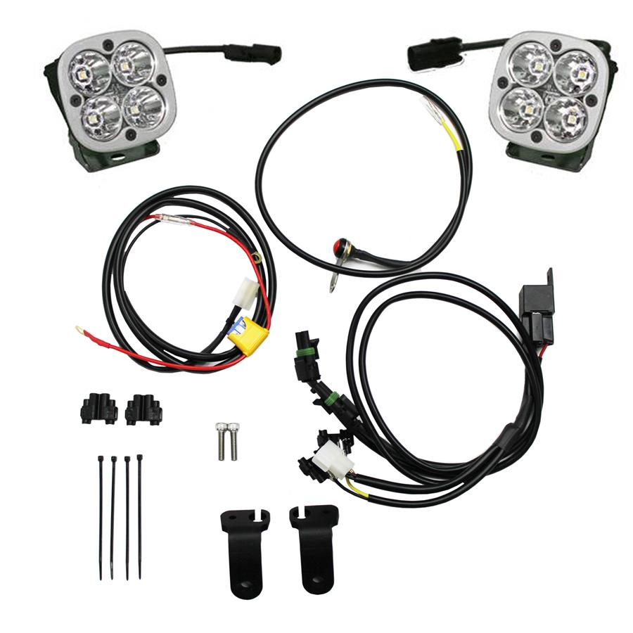 hight resolution of baja designs squadron sport bmw 1200gs led light kit 13 on
